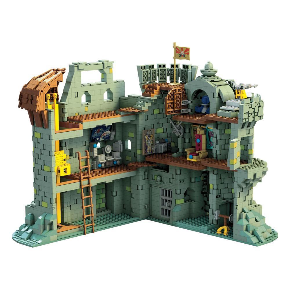 Masters of the universe mega construx probuilders castle grayskull 3