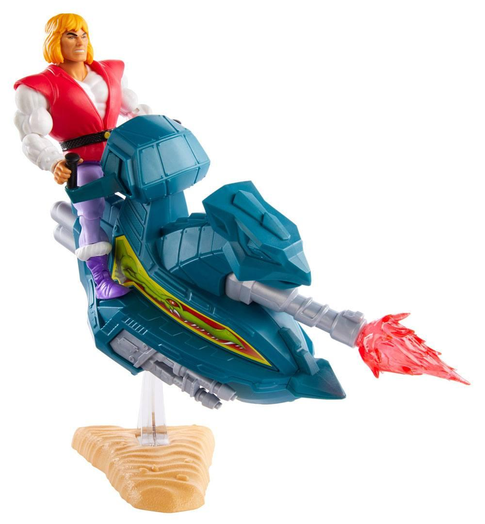 Masters of the universe origins 2020 figurine prince adam with sky sled 14 cm 1