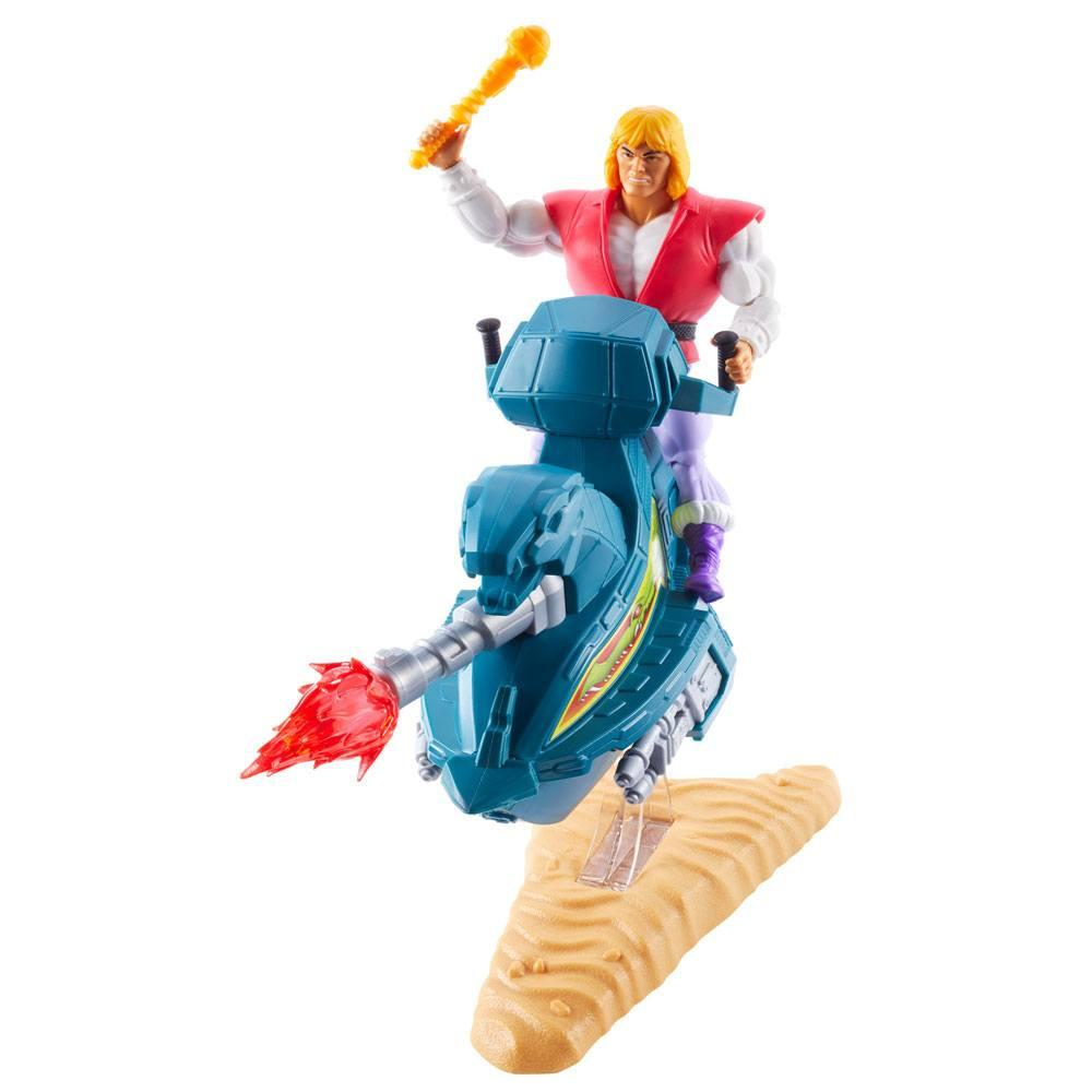 Masters of the universe origins 2020 figurine prince adam with sky sled 14 cm 2