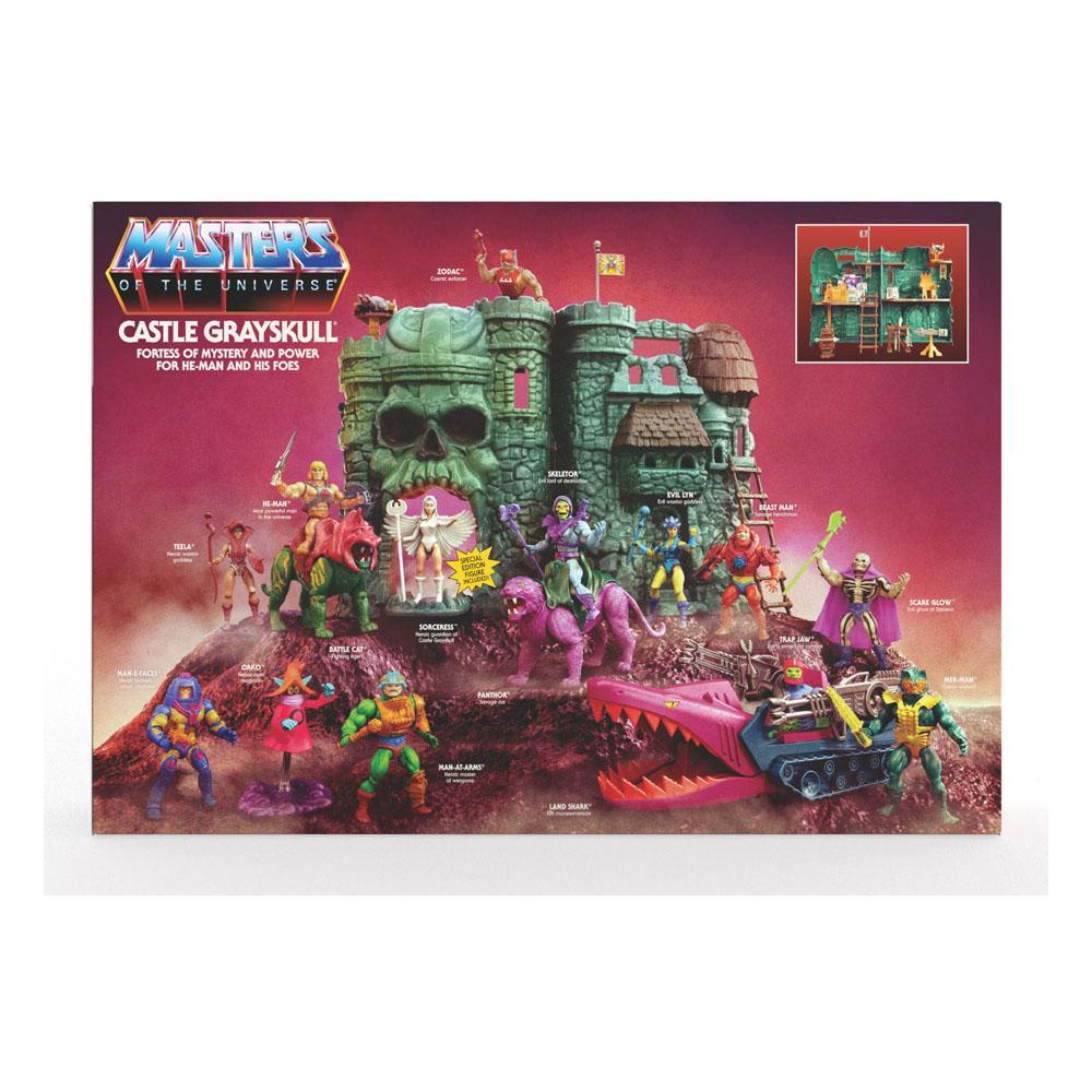 Masters of the universe origins 2021 castle grayskull 3