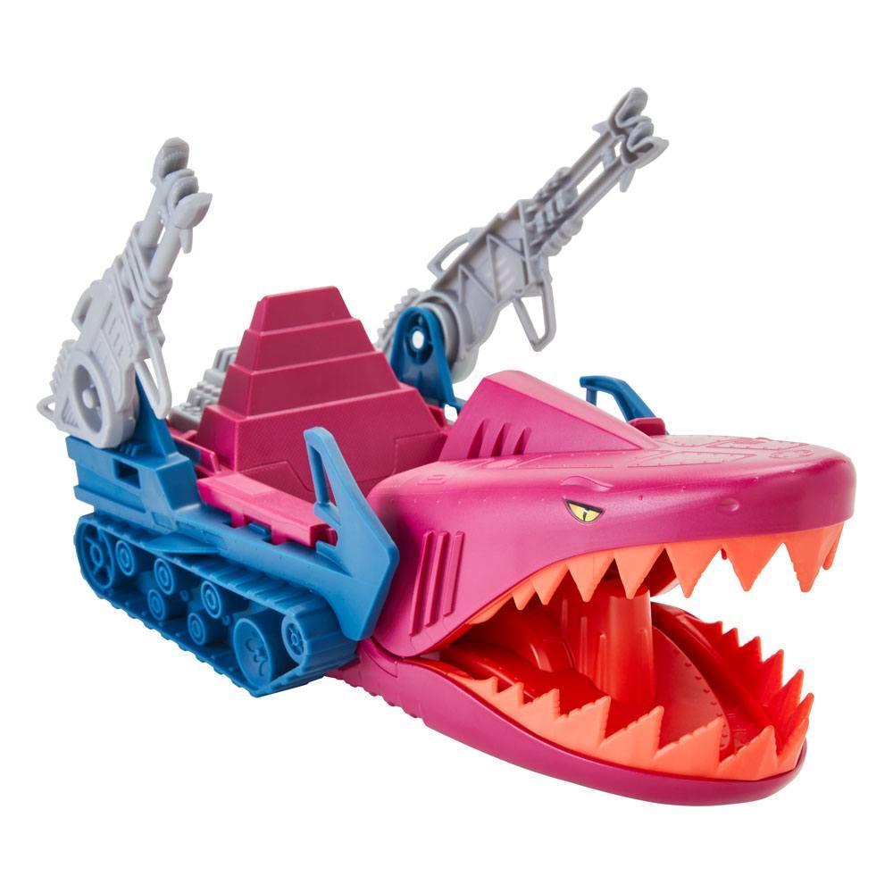 Masters of the universe origins 2021 vehicule land shark 32 cm suukoo toys 1