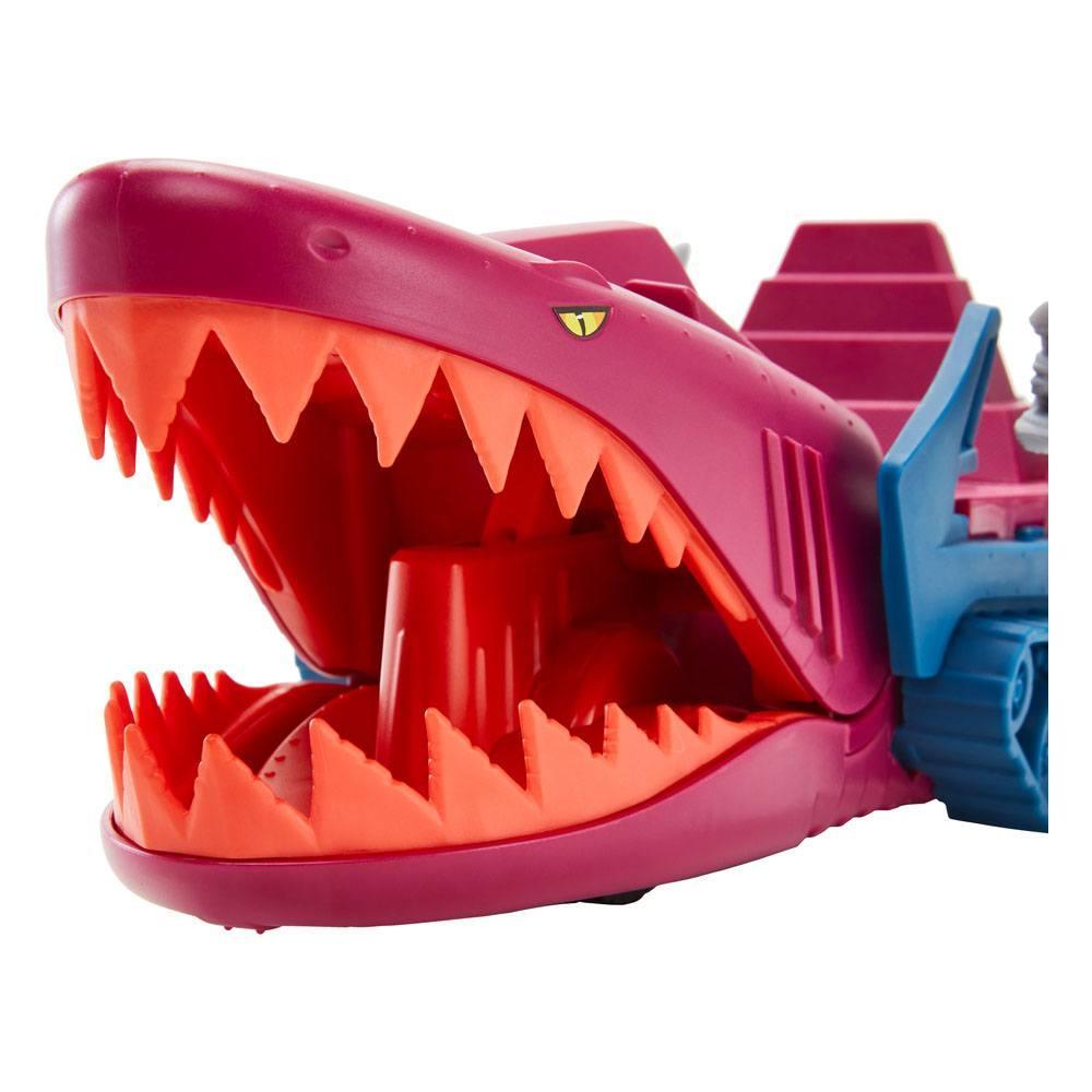 Masters of the universe origins 2021 vehicule land shark 32 cm suukoo toys 2