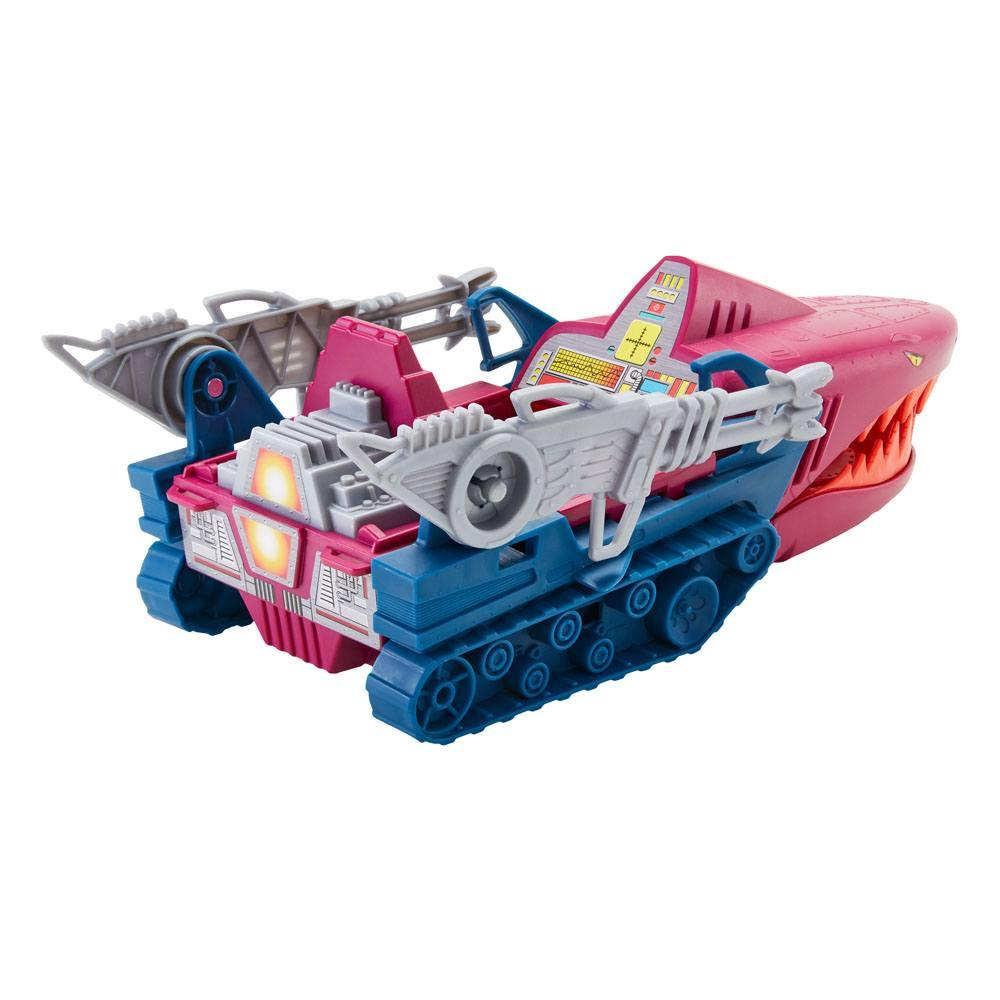 Masters of the universe origins 2021 vehicule land shark 32 cm suukoo toys 5