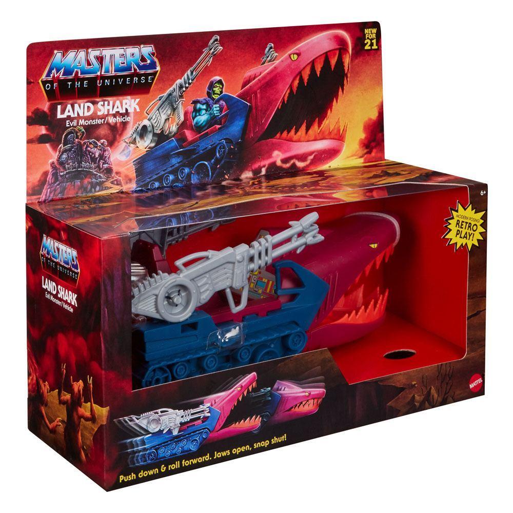Masters of the universe origins 2021 vehicule land shark 32 cm suukoo toys 9