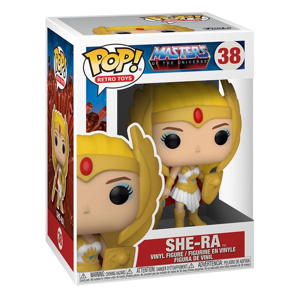 Masters of the universe pop animation vinyl figurine classic she ra 9 cm 2