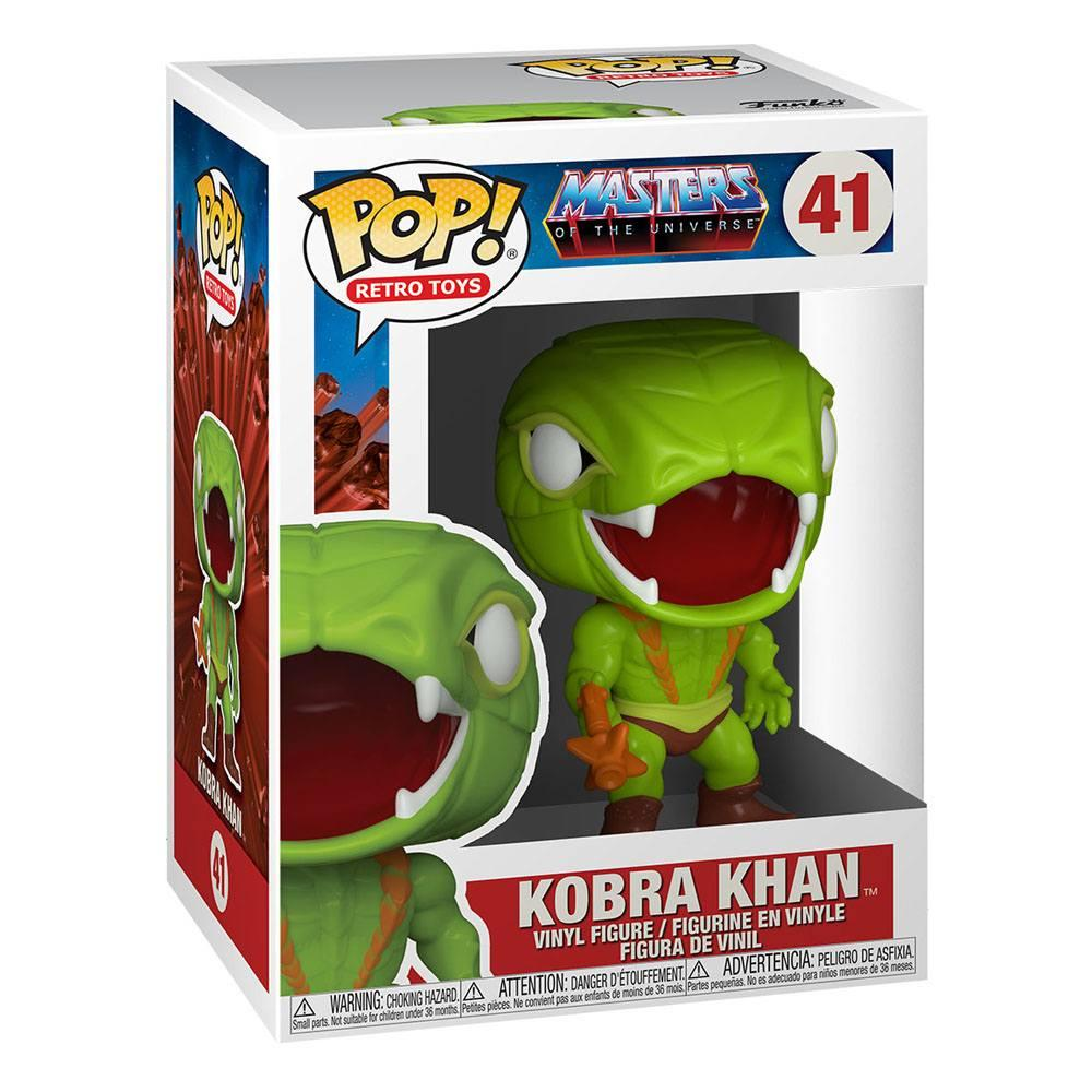 Masters of the universe pop animation vinyl figurine kobra khan 9 cm 2