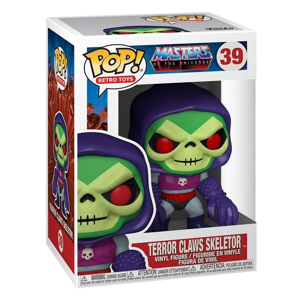 Masters of the universe pop animation vinyl figurine skeletor wterror claws 9 cm 2