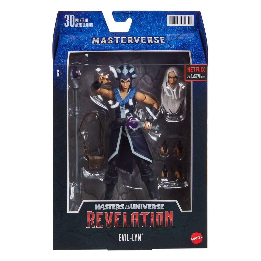 Masters of the universe revelation masterverse 2021 figurine evil lyn 18 cm 3
