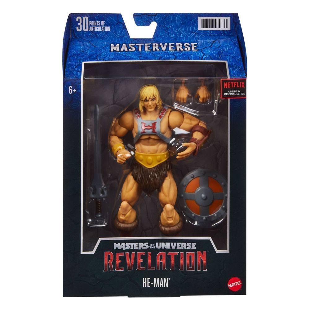Masters of the universe revelation masterverse 2021 figurine he man 18 cm 4