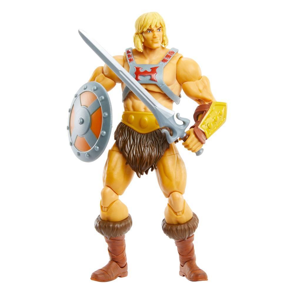 Masters of the universe revelation masterverse 2021 figurine he man 18 cm 6
