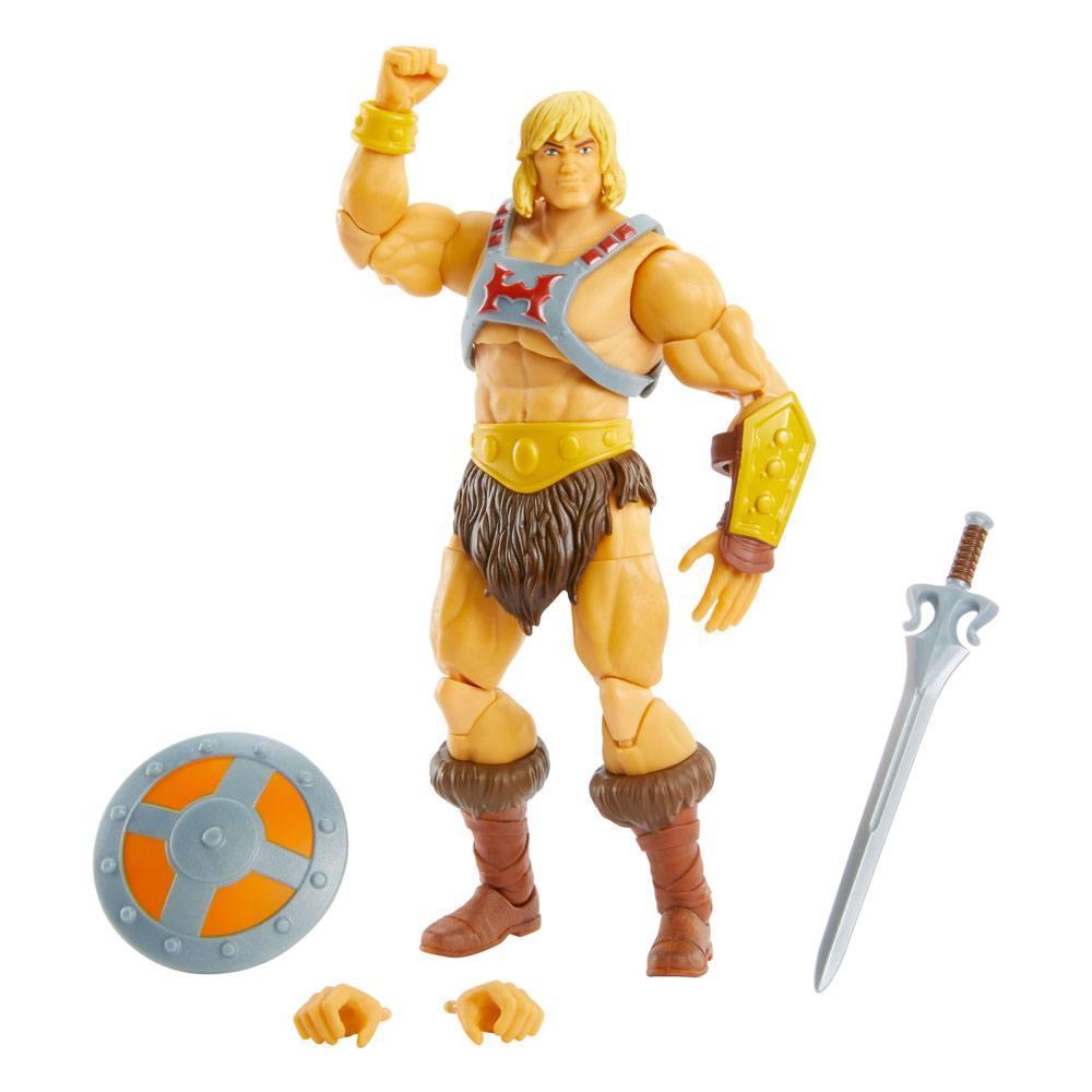 Masters of the universe revelation masterverse 2021 figurine he man 18 cm 7