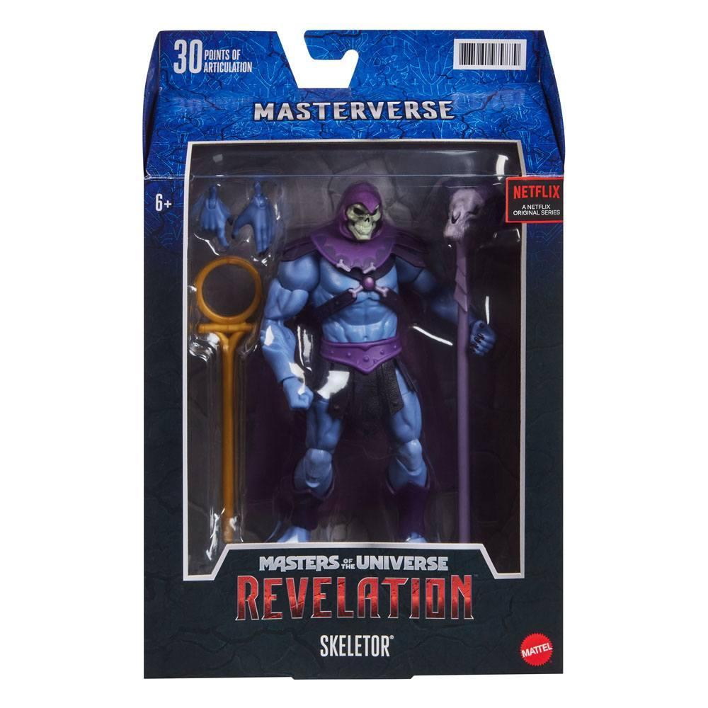 Masters of the universe revelation masterverse 2021 figurine skeletor 18 cm 8