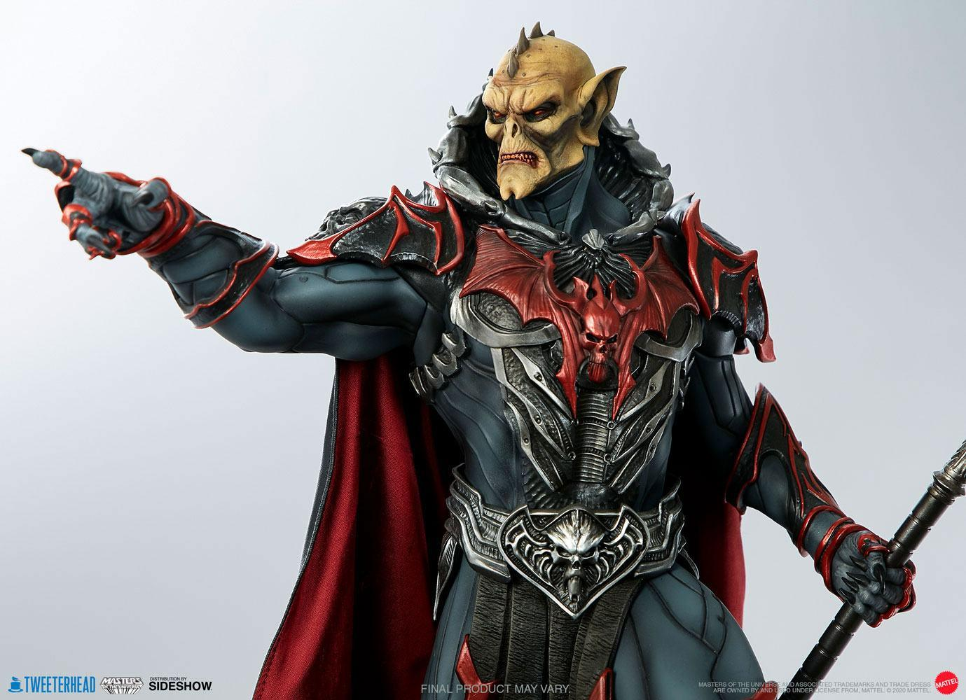Masters of the universe statuette hordak sideshow collectible 11