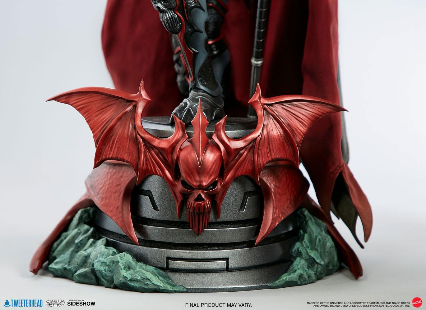 Masters of the universe statuette hordak sideshow collectible 13