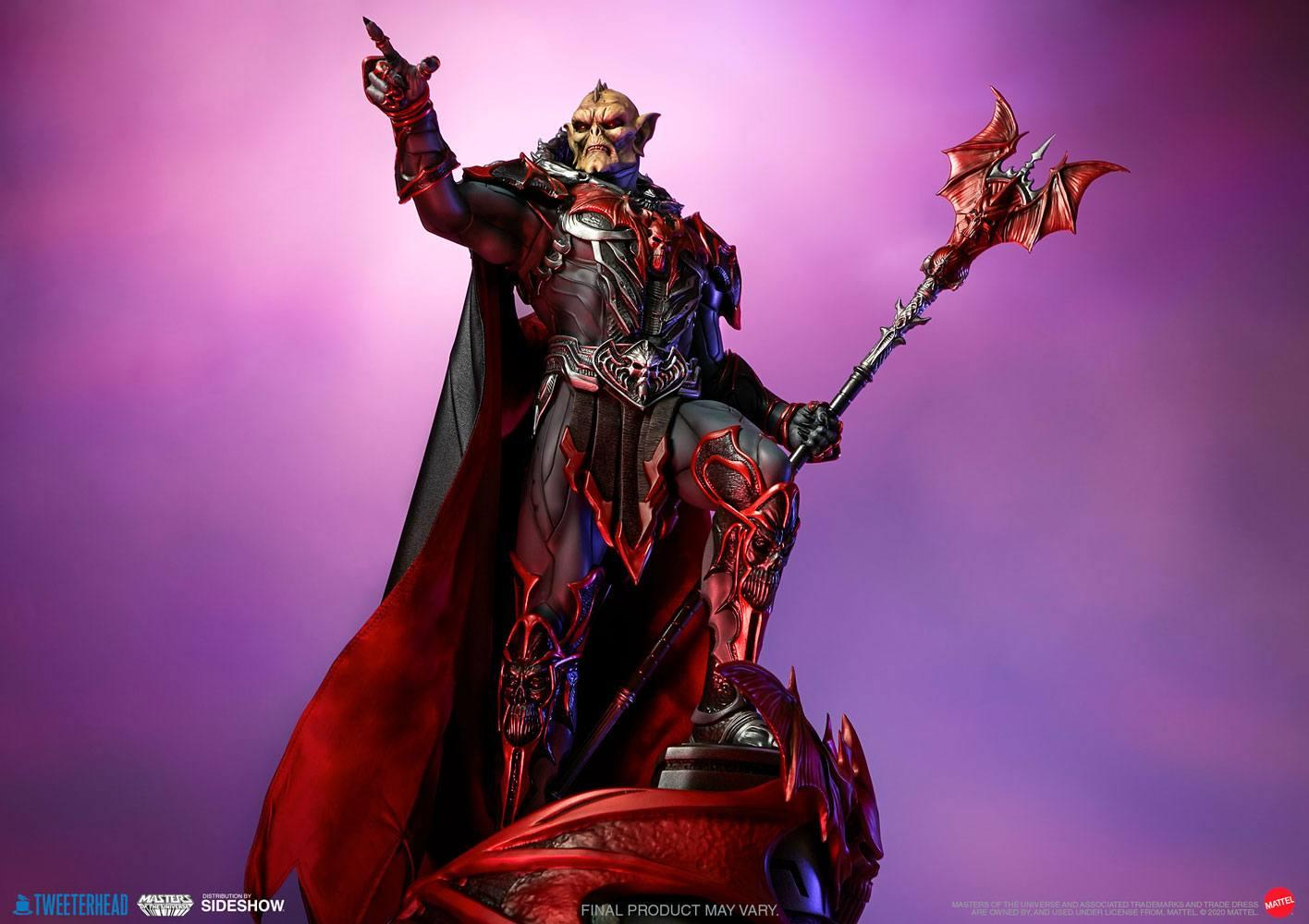 Masters of the universe statuette hordak sideshow collectible 15