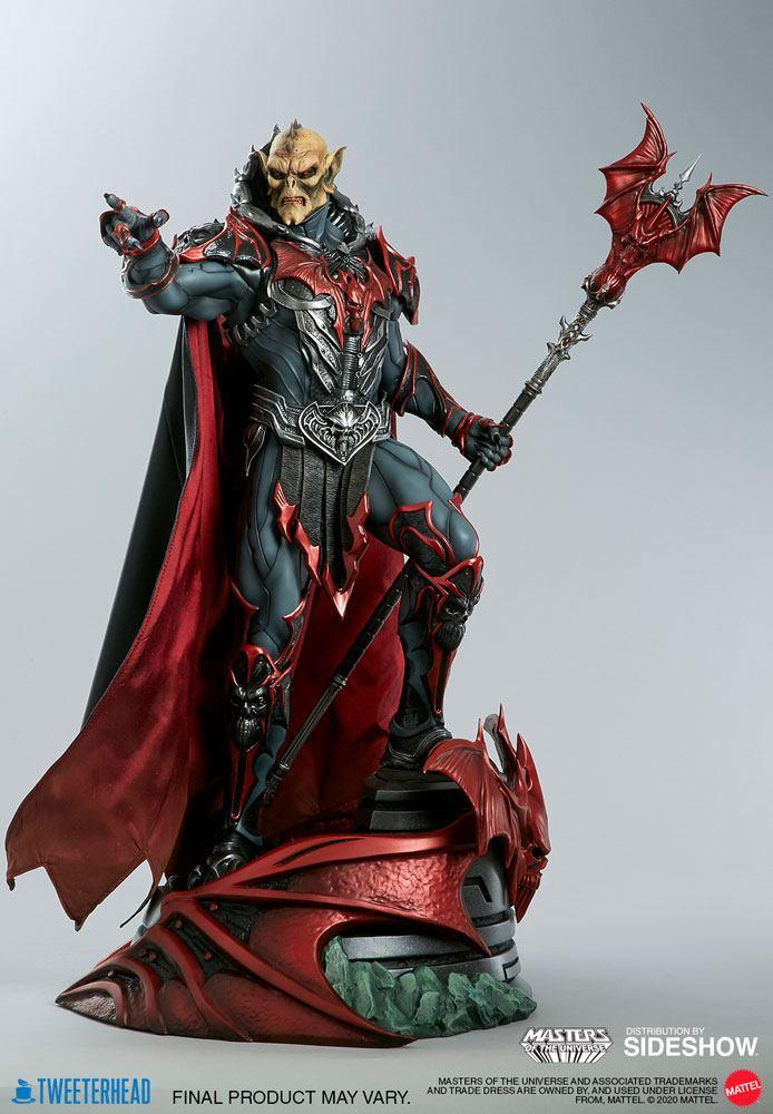 Masters of the universe statuette hordak sideshow collectible 2