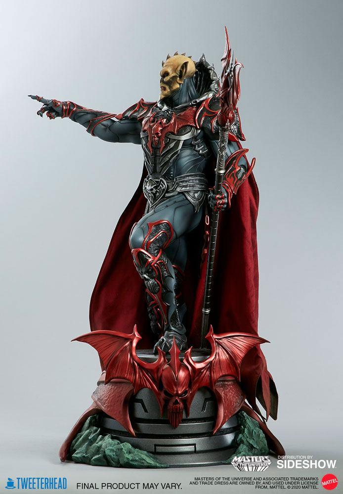Masters of the universe statuette hordak sideshow collectible 3