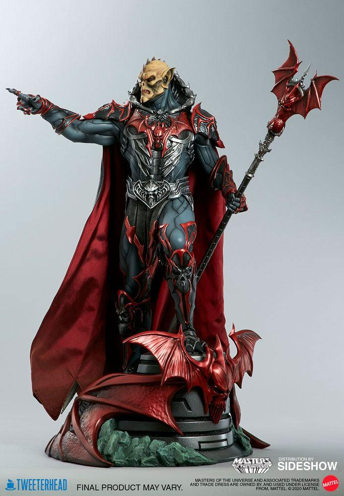 Masters of the universe statuette hordak sideshow collectible 4
