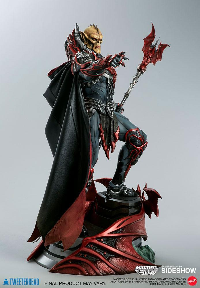 Masters of the universe statuette hordak sideshow collectible 6