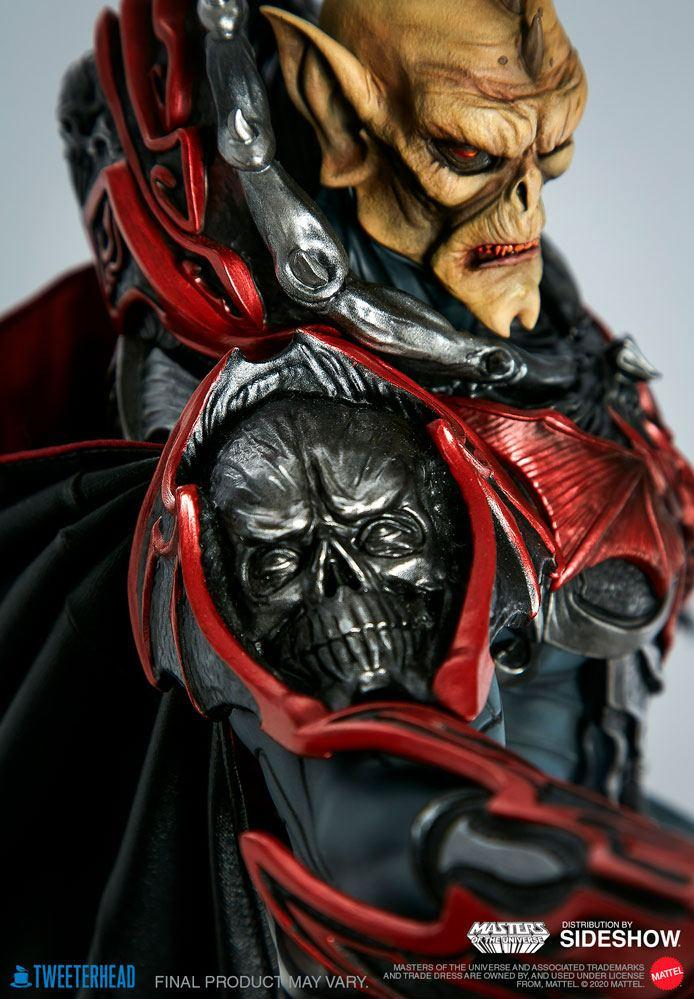 Masters of the universe statuette hordak sideshow collectible 8