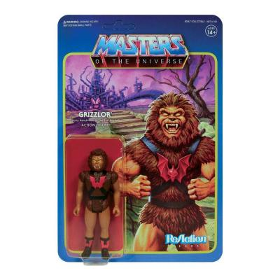 Masters of the universe wave 5 figurine reaction grizzlor 10 cm