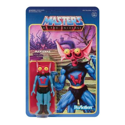 Masters of the universe wave 5 figurine reaction mantenna 10 cm