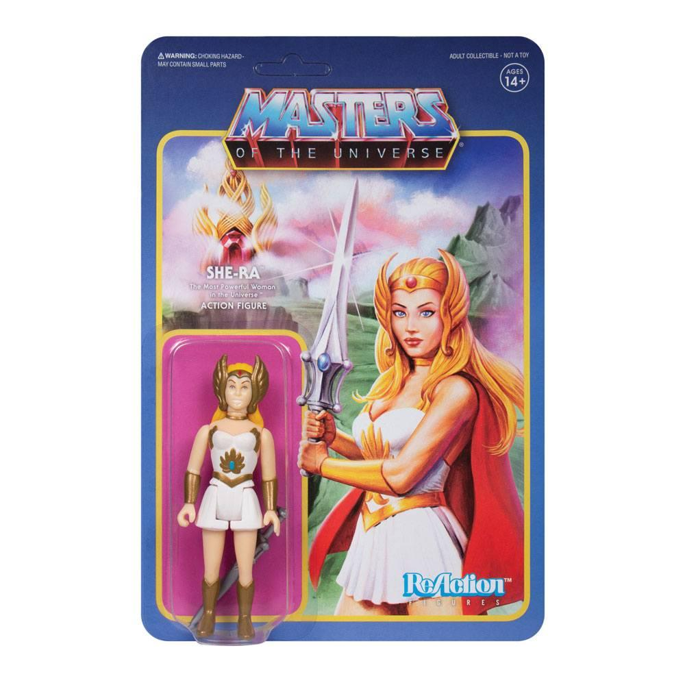 Masters of the universe wave 5 figurine reaction she ra 10 cm