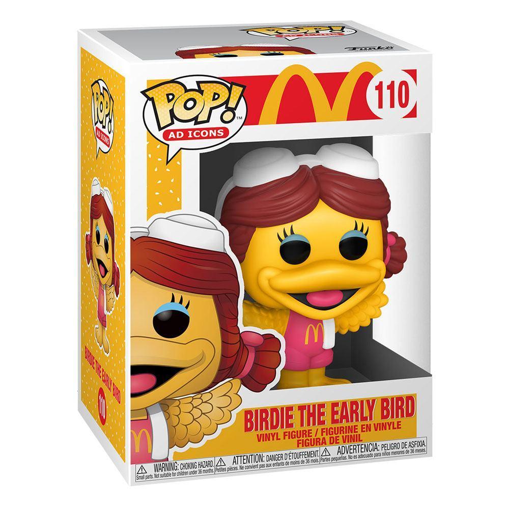 Mcdonald s pop ad icons vinyl figurine birdie 9 cm 1