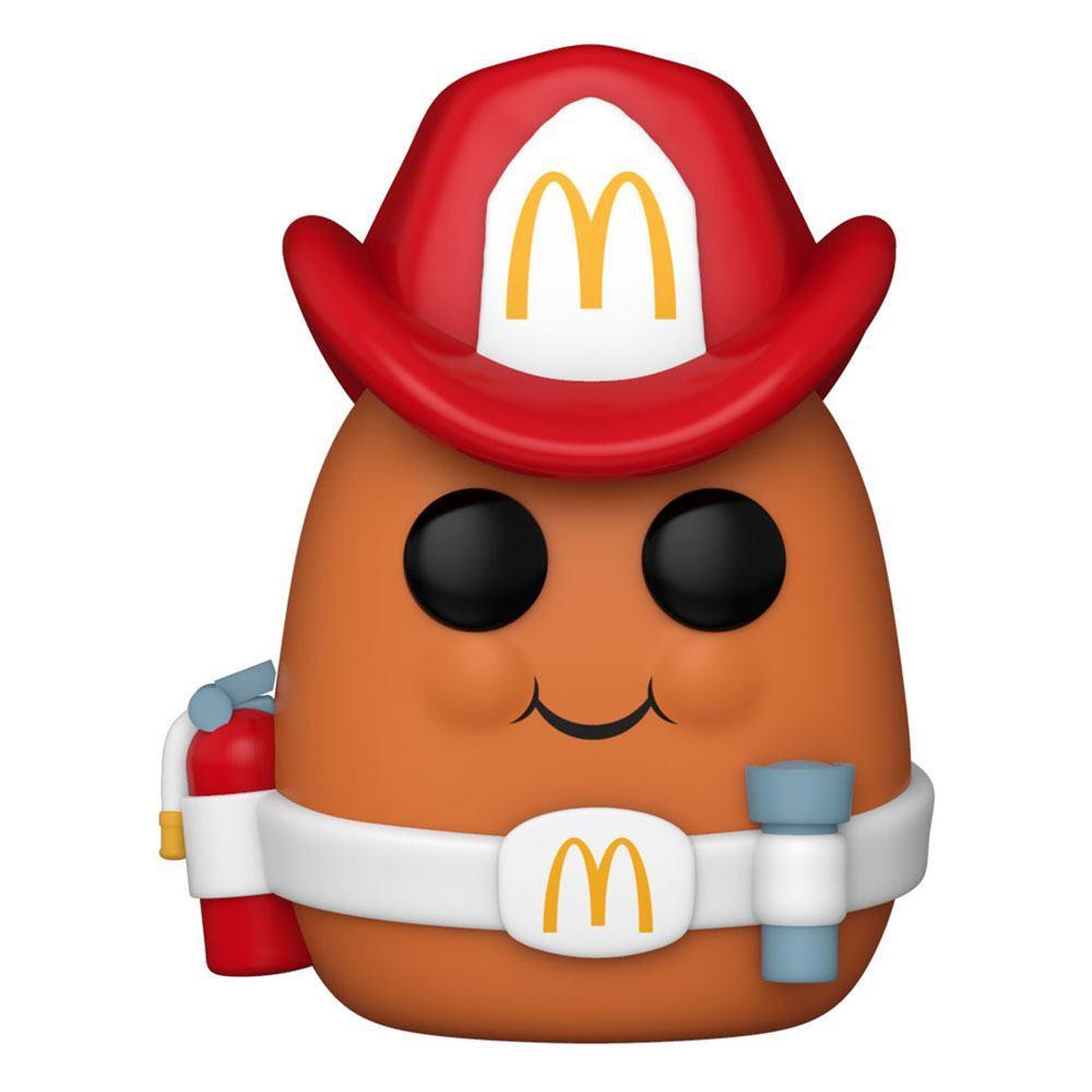 Mcdonald s pop ad icons vinyl figurine fireman nugget 9 cm 1