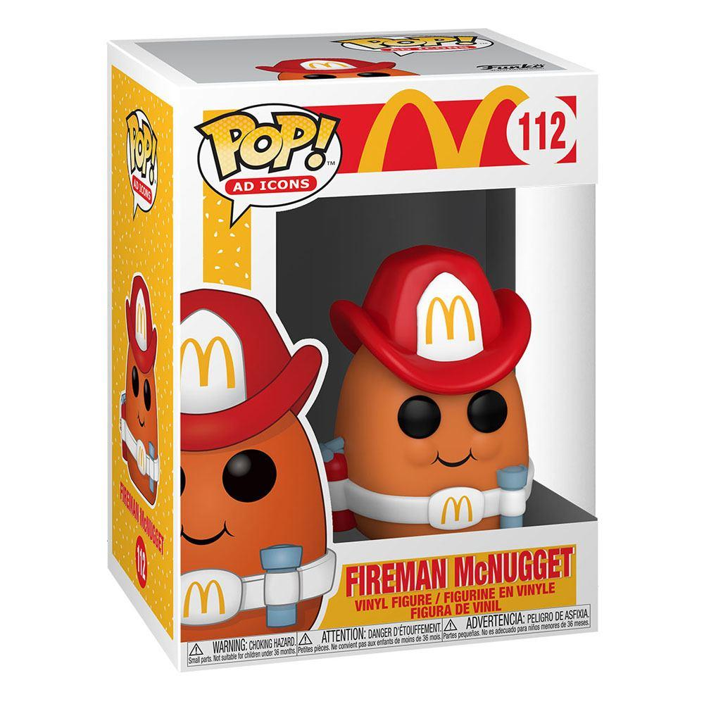 Mcdonald s pop ad icons vinyl figurine fireman nugget 9 cm 2