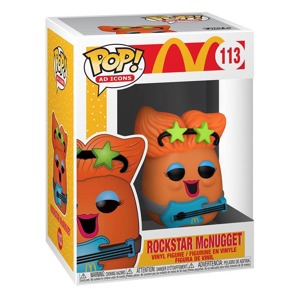 Mcdonald s pop ad icons vinyl figurine rockstar nugget 9 cm 1