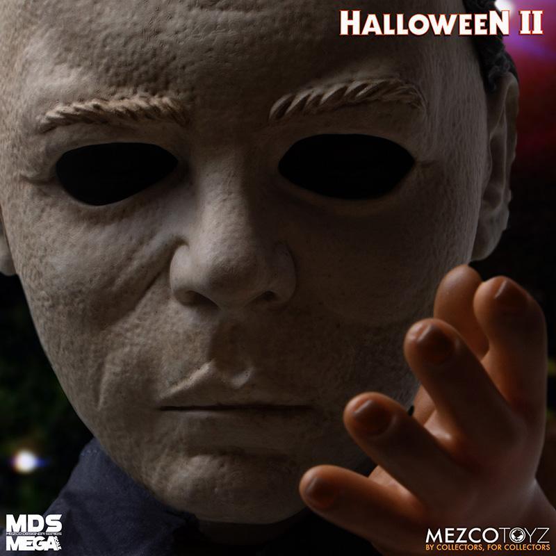 Mds halloween ii mega scale 1983 michael myers avec son mezco suukoo toys poupee