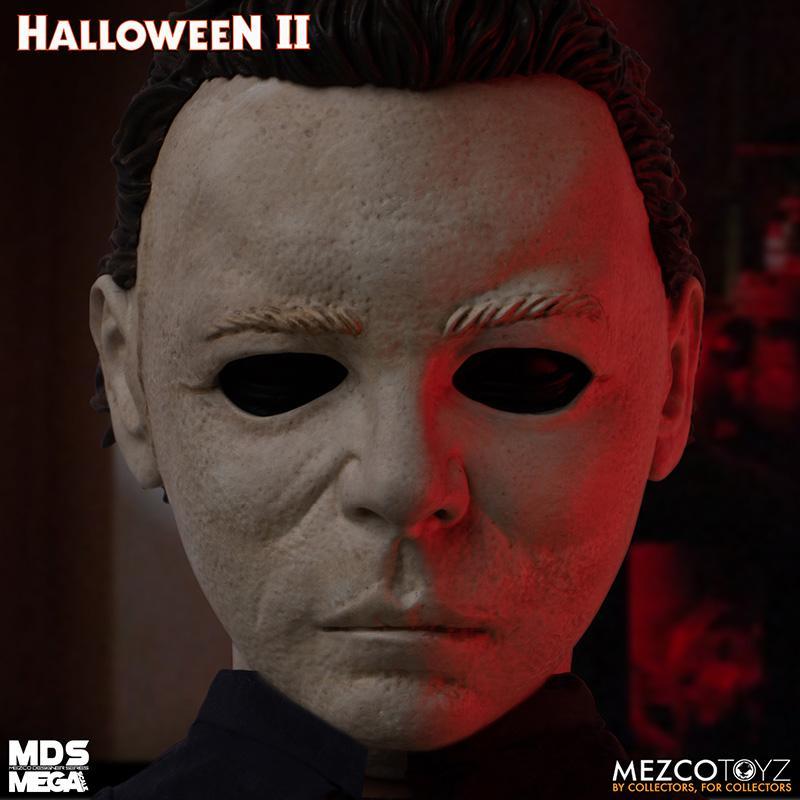 Mds halloween ii mega scale 1984 michael myers avec son mezco suukoo toys poupee