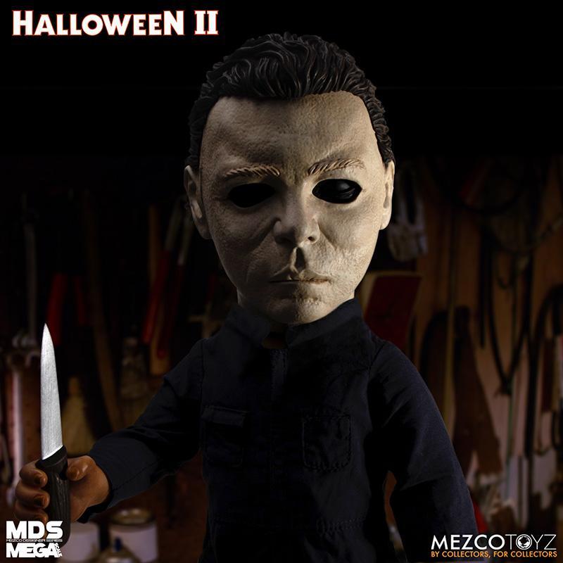 Mds halloween ii mega scale 1985 michael myers avec son mezco suukoo toys poupee