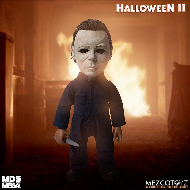 Mds halloween ii mega scale 1987 michael myers avec son mezco suukoo toys poupee