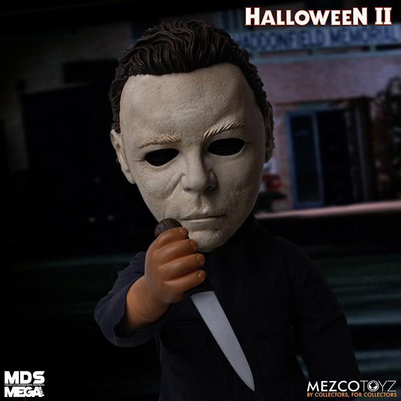 Mds halloween ii mega scale 1989 michael myers avec son mezco suukoo toys poupee