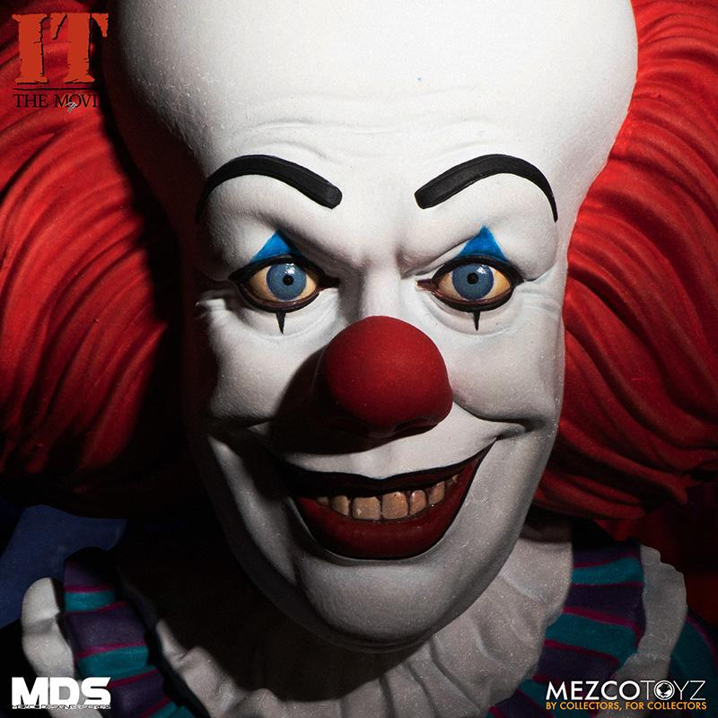 Mds it 1990 pennywise deluxe mezco 7