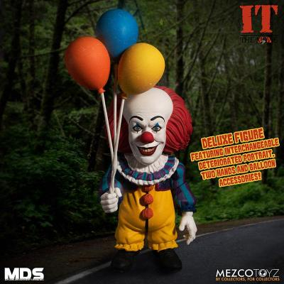 Mds it 1990 pennywise deluxe mezco
