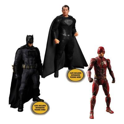 Zack Snyder's Justice League figurines 1/12 Deluxe Steel Box Set 15 - 17 cm