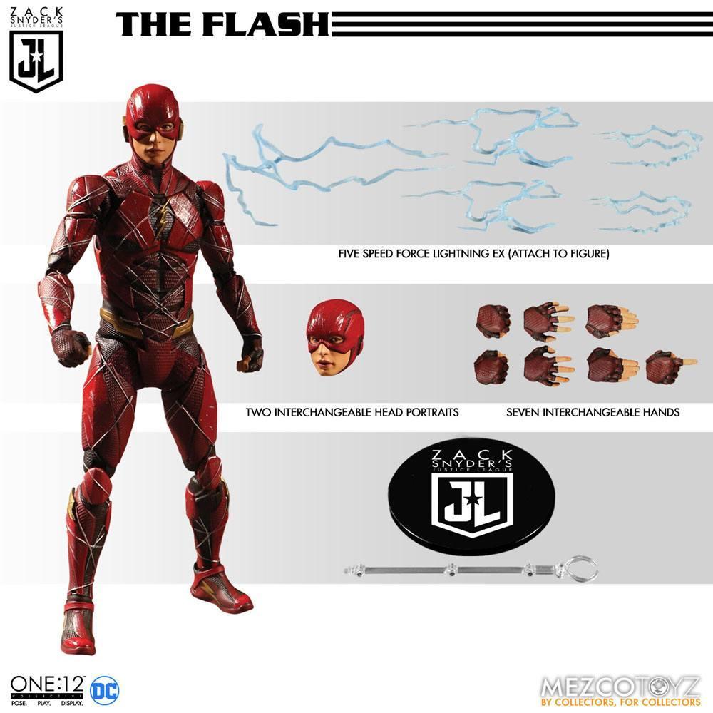 Mezco figurine batman flash superman suukoo toys collection 3