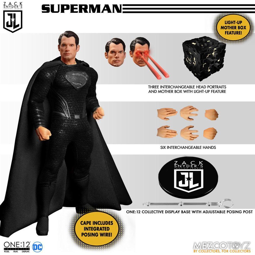 Mezco figurine batman flash superman suukoo toys collection 4