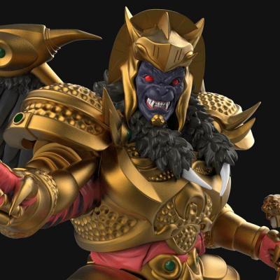 Power Rangers statuette Goldar 1/8  Mighty Morphin PVC 40 cm