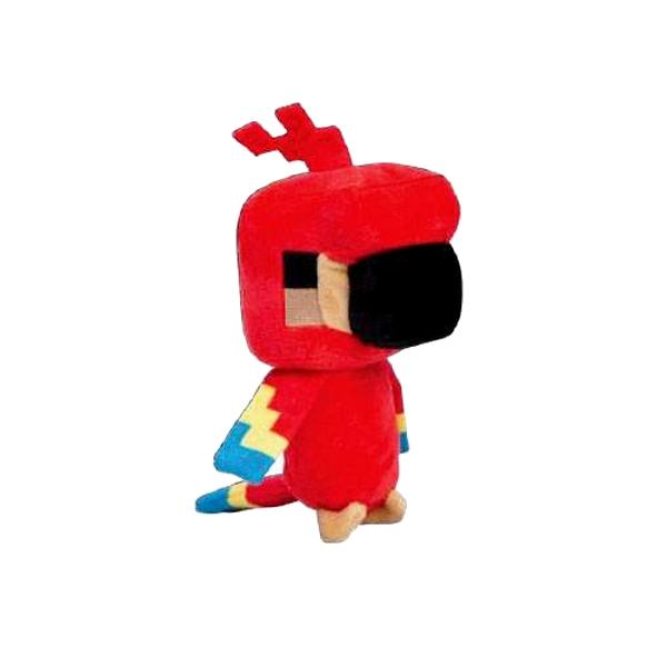 Minecraft peluche happy explorer parrot 18 cm