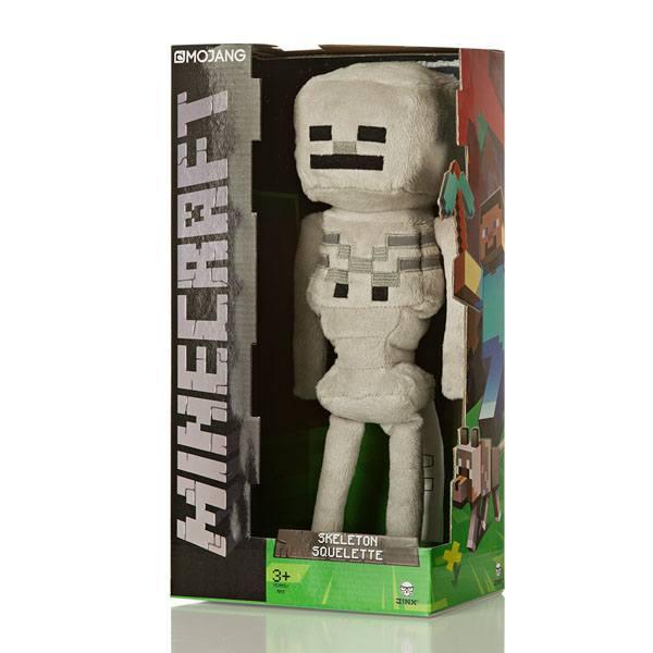 Minecraft skeleton peluche 2