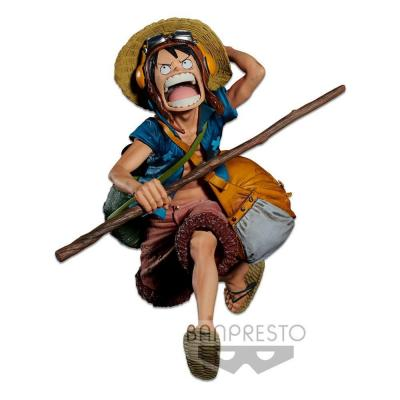 One Piece statuette PVC Banpresto Chronicle Colosseum 4 Vol. 1 Monkey D. Luffy 16 cm