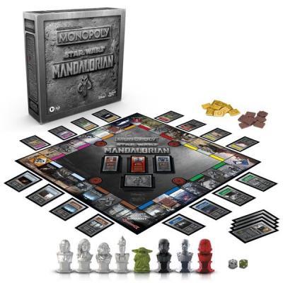 Star Wars Monopoly Mandalorian Français