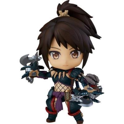 Monster Hunter World Iceborne figurine Nendoroid Hunter: Female Nargacuga Alpha Armor Ver. DX
