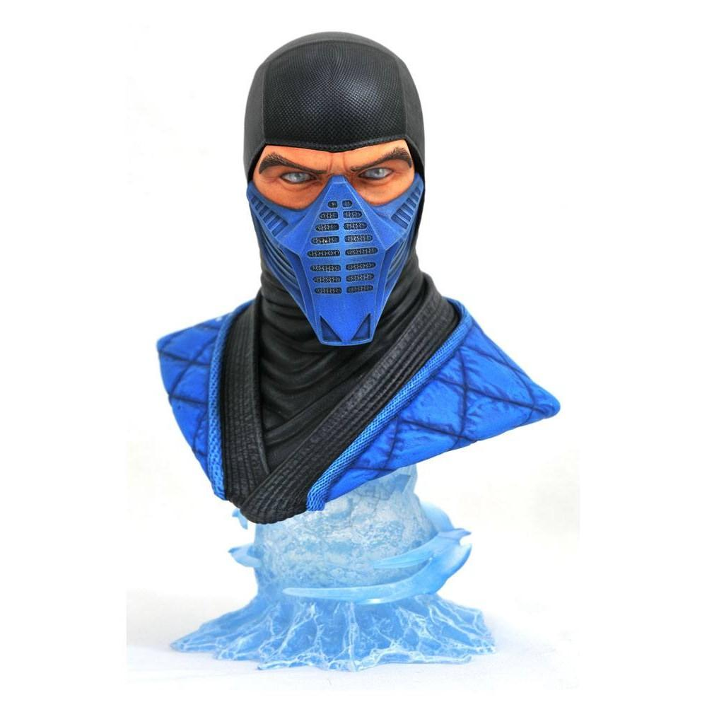 Mortal kombat 11 legends in 3d buste 12 sub zero 25 cm