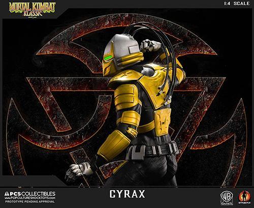 Mortal kombat cyrax statue 52cm resine regular 3