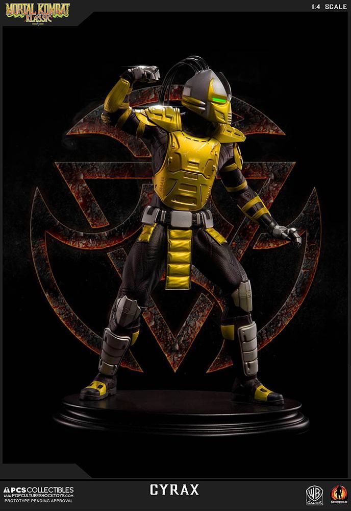 Mortal kombat cyrax statue 52cm resine regular 5